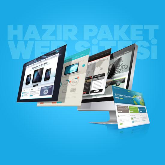Hazır Paket Web Sitesi Nedir?